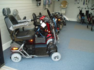 scooters showroom